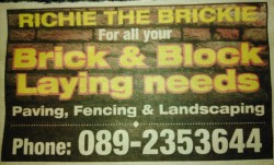 Brick/Blocklaying... Paving...fencing....etc