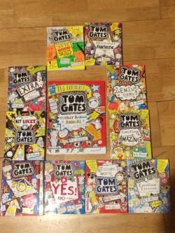12 Tom Gates books