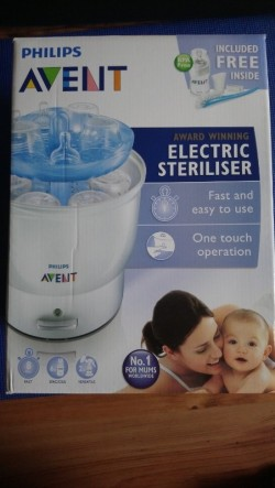 Avent Electric Sterilizer- Fast/One touch operation