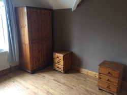 Wardrobe with two bedside lockers for sale