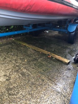 Ex-Rescue Rib Boat
