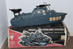 Action Man Cherilea Missile Patrol Boat from 1970s