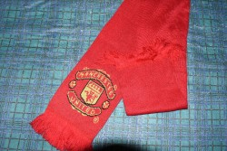 Manchester United Red Scarf