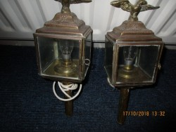 Carriage lamps.