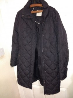 Ladies Split quilted jacket size on the label