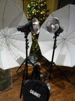 Photographic studio kit (for home)