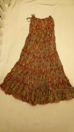 A set of 4 designer skirts/ can be sold separately