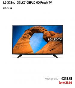 LG 32 inch TV *brand new*