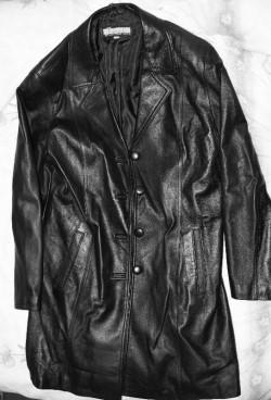 Ladies' Leather Coat (S16) - Leather Fashions Australia