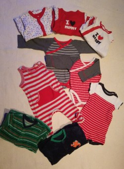 6-9 months cloths (set of 9) from Big Brands