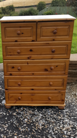 large chest of drawers