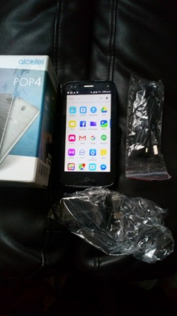 Alcatel POP4 brand new unlock with new phone coverage