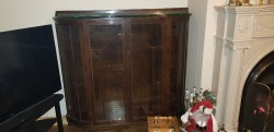 Large  antique China cabinet  lovely piece