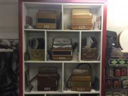 Over 30 different Button key accordions