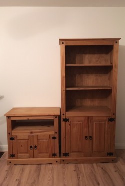 Book case and TV cabinet