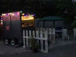 Mobile Coffee Trailer for Auction