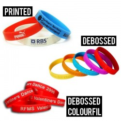 Charity Silicone Wristbands