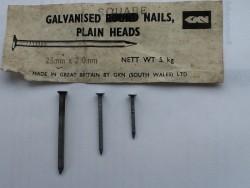 Boat nails