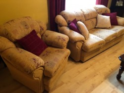 3-Seater Sofa, 2 Armchairs, in great condition