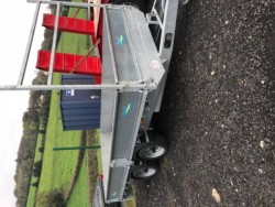 new 12 x 6 6 dropside trailer