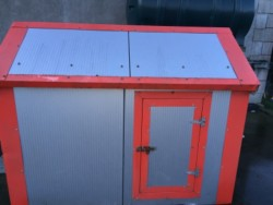 Small insulated shed