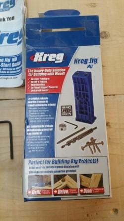 Kreg wood jigs