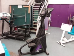 Auction of gym equipment