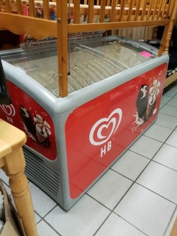Large Display Freezer