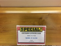 ONTARIO JUNIOR OAK GLOSS