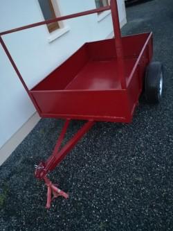 Car trailer all steel 6 x4