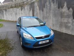 2011 Light Blue Ford Focus