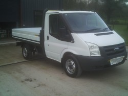 Ford Transit Drop-side Pickup 2011