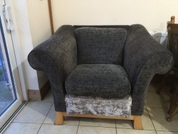 Chair and 3 seater