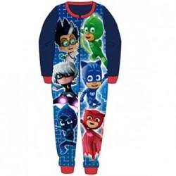 Boys PJ Masks Vs Villians official fleece onesie