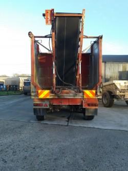 Fruehauf triaxle tipping trailer
