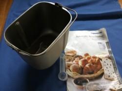 Replacement pan for Panasonic Bread Machine