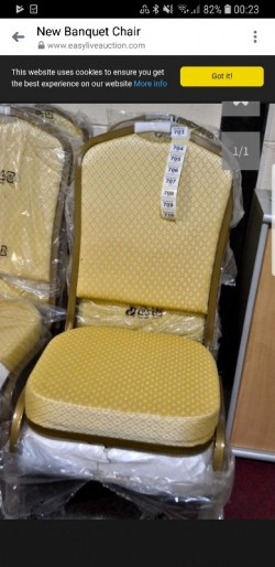 8 brand top quality  new banquet  chairs