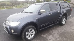 MITSUBISHI L200 WARRIOR 100,000 genuine miles