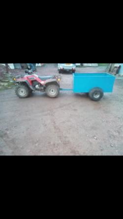 Quad trailer 3x5