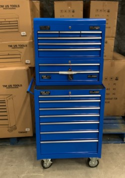 Brand new TM-US 3 Piece 15 Drawer Tool Chest