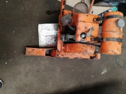 Vibrating Petrol Beam Compactor