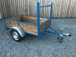 NEWLY BUILT 6 X 4FT CAR TRAILER Plated 750kg's