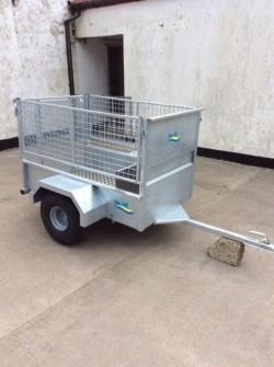 Brand new MCM 5x3 quad trailer