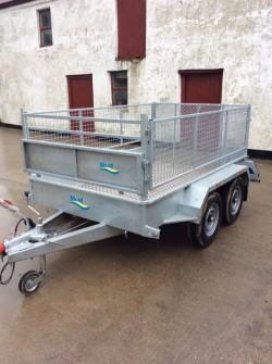 Brand new 8x5 double axle trailer
