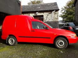 Vw caddy van 1.9tdi