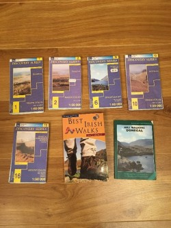 Donegal Ordanance survey Maps and Hiking Books