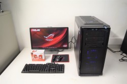 Gaming Computer PC Complete Bundle With Monitor and Accessories and i7 Processor