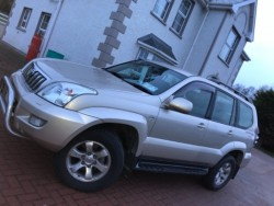 Toyota Landcruiser LWB 3.0 TDi - 5 seats €333 tax