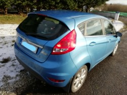 Ford Fiesta 2011 BLUE for sale