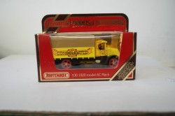 matchbox modles of yesteryear cars and lorries and trucks